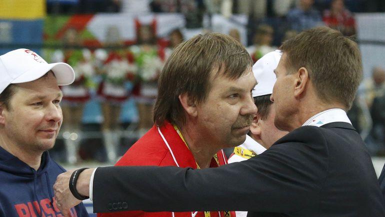 Олег ЗНАРОК и Эркка ВЕСТЕРЛУНД. Фото Reuters