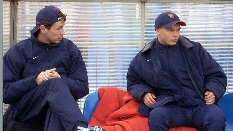 Егор ТИТОВ (слева) и Марат ИЗМАЙЛОВ. Фото Александр ВИЛЬФ