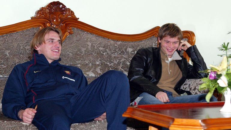 Дмитрий БУЛЫКИН и Марат ИЗМАЙЛОВ. Фото Алексей ИВАНОВ, «СЭ»