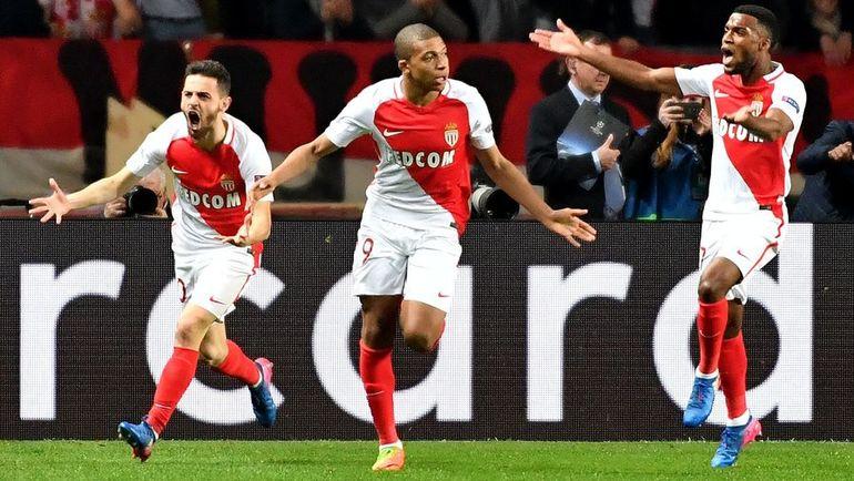 "Среда. Лига чемпионов. 1/8 финала. Ответный матч. ""Монако"" (Франция) – ""Манчестер Сити"" (Англия) – 3:1."
