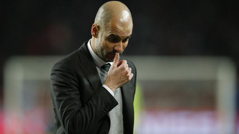 """Сегодня. Монте-Карло. """"Монако"""" - """"Манчестер Сити"""" - 3:1. Команда Хосепа ГВАРДЬОЛЫ впервые вылетела на такой ранней стадии. Фото REUTERS"""