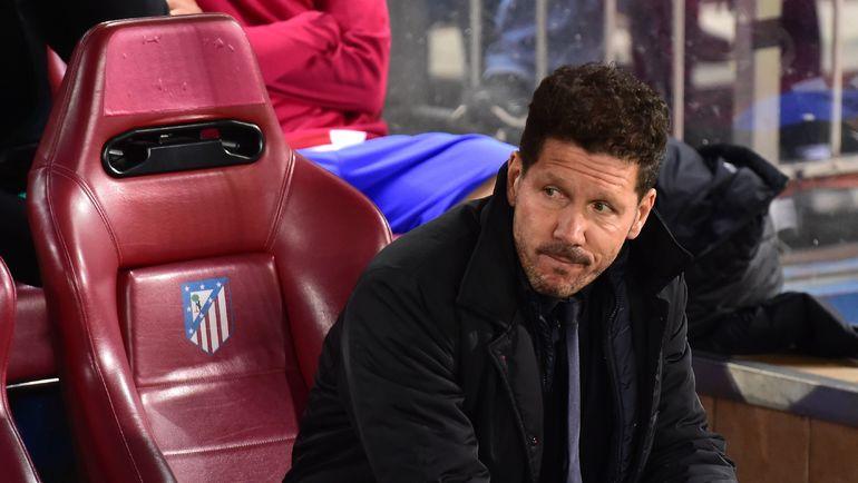 """Среда. Мадрид. """"Атлетико"""" - """"Байер"""" - 0:0. Диего СИМЕОНЕ. Фото Reuters"""