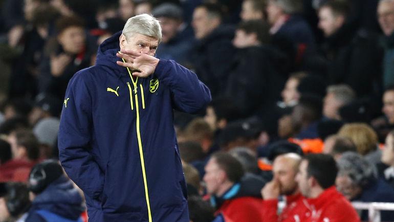 """7 марта. Лондон. """"Арсенал"""" – """"Бавария"""" – 1:5. """"Арсенал"""" Арсена ВЕНГЕРА в очередной раз не смог пройти первый раунд плей-офф. Фото AFP"""