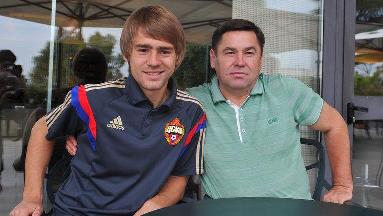 Кирилл и Виктор ПАНЧЕНКО. Фото Александр ФЕДОРОВ, «СЭ»