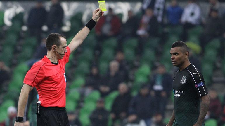 ВАНДЕРСОН (справа) отметился карточкой и загубленными моментами. Фото Виталий ТИМКИВ