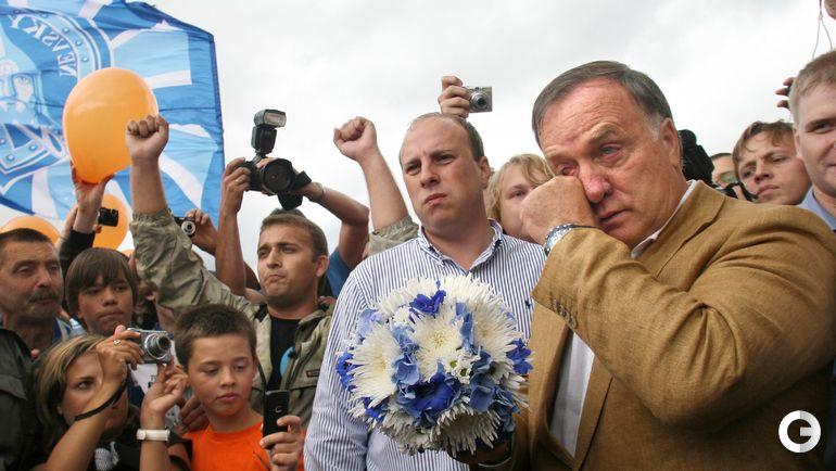 2009 год. Дик АДВОКАТ (справа) прощается с Санкт-Петербургом.
