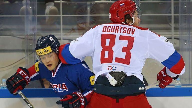 Сборная России на этот раз серьезнее отнеслась к корейской команде. Фото ФХР