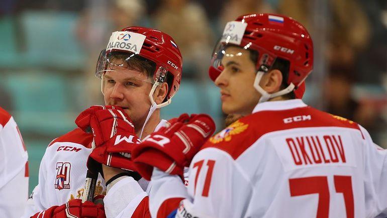 Победа вновь осталась за россиянами - 5:2. Фото ФХР
