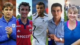 Алексей Борисович, Роман, Алексей-старший, Алексей-младший и Нелли ЕРЕМЕНКО.