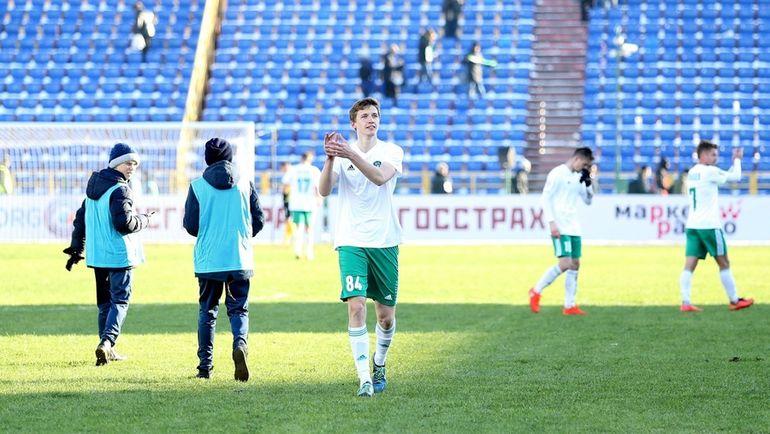 """Для """"Томи"""" победа над """"Амкаром"""" стала первой с начала осени. Фото Дмитрий ШУБА"""