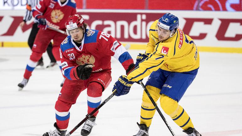 Алексей КРУЧИНИН и Хенрик ТЕММЕРНЕС. Фото Reuters