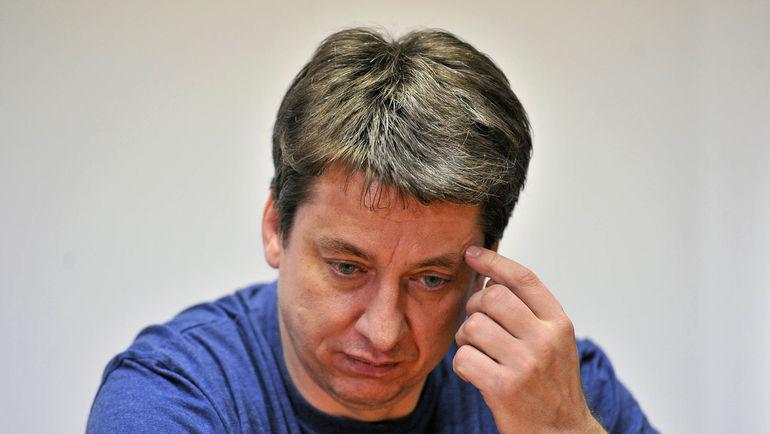 Тренер СКА Харийс ВИТОЛИНЬШ. Фото Алексей ИВАНОВ, «СЭ»