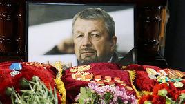 Сегодня. Москва.Мемориал в честь Сергея Гимаева.