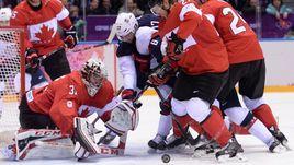 21 февраля 2014 года. Сочи. Канада - США - 1:0. Приедут ли вратарь Кэри ПРАЙС и другие суперзвезды НХЛ в Корею, несмотря на жесткие заявления руководителей лиги, до сих пор не решено.