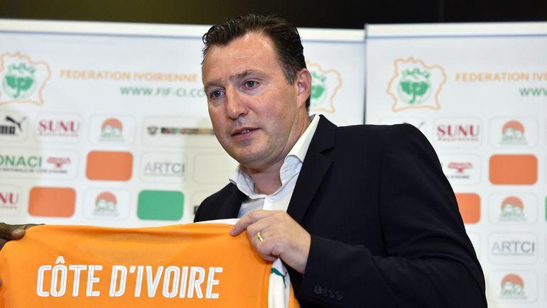 Новый главный тренер сборной Кот-д`Ивуара Марк ВИЛЬМОТС. Фото AFP