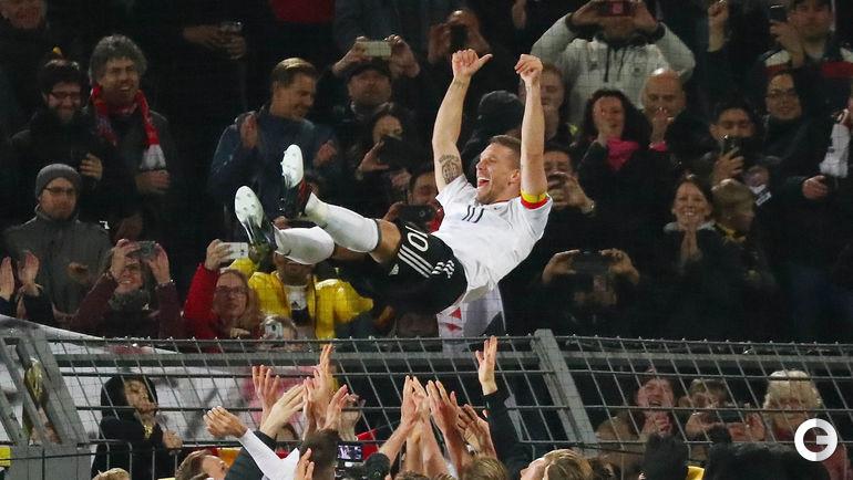 Вчера. Дортмунд. Германия – Англия – 1:0. Лукас ПОДОЛЬСКИ.