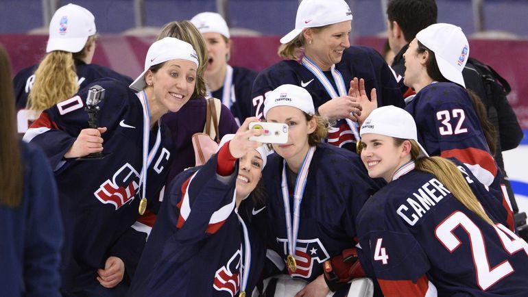 Женская сборная США недовольна размера финансирования. Фото AFP