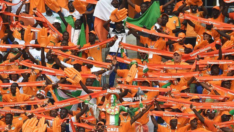 Болельщики сборной Кот-д'Ивуара. Фото AFP
