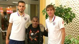 Вчера. Краснодар. ГИЛЬЕРМЕ, ЖОАУЗИНЬЮ и МАРИУ ФЕРНАНДЕС (слева направо): были бразильцами, стали россиянами.