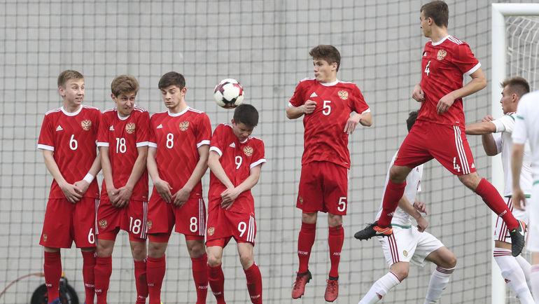 Четверг. Будапешт. Россия - Венгрия - 1:2. Российские юноши остались на последнем месте в своей группе. Фото РФС