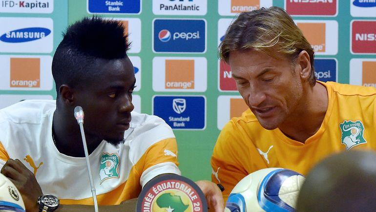 Эрик БАЙИ (слева) и Эрве РЕНАР. Фото AFP