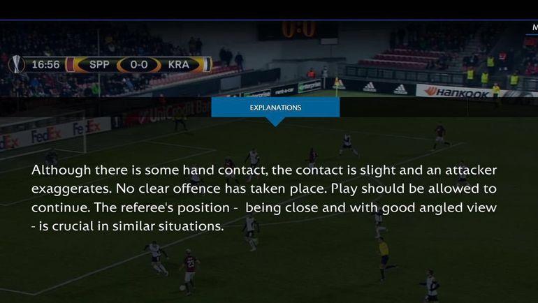 Рекомендации УЕФА.