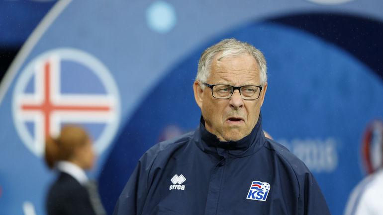 Главный тренер сборной Норвегии Ларс ЛАГЕРБЕК. Фото AFP