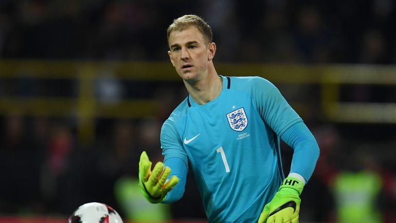 Вратарь сборной Англии Джо ХАРТ. Фото AFP