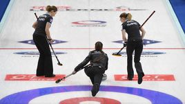 Женская сборная России сражается за золото чемпионата мира.