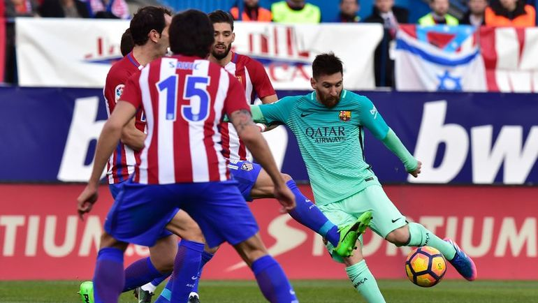 """Встреча """"Барселоны"""" и """"Атлетико"""" интереснее противостояния сборных Италии и Испании. Фото AFP"""