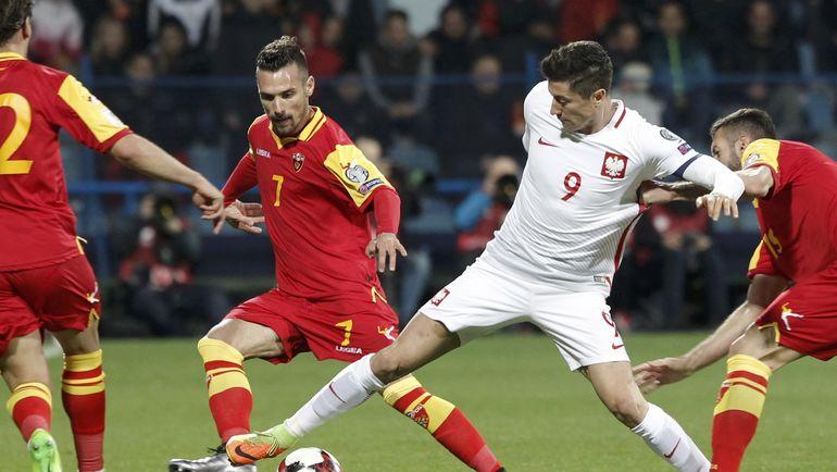 Польша на выезде обыграла Черногорию и практически гарантировала себе первое место в отборочной группе. Фото Reuters