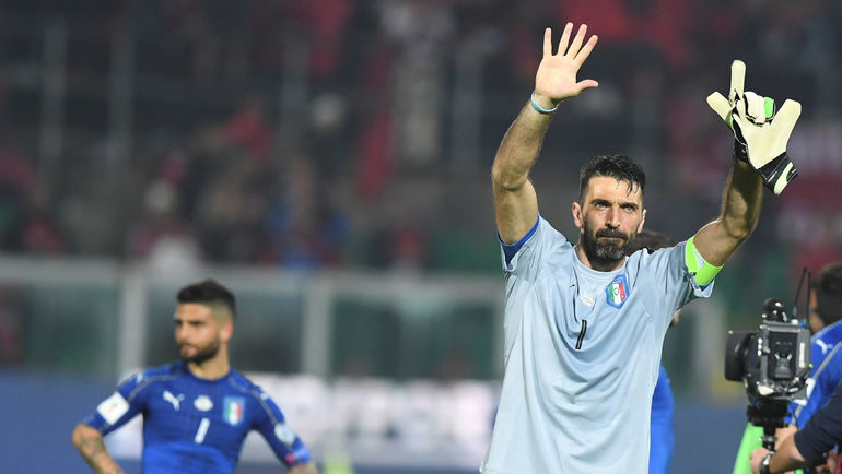 Вратарь сборной Италии Джанлуиджи БУФФОН. Фото Reuters