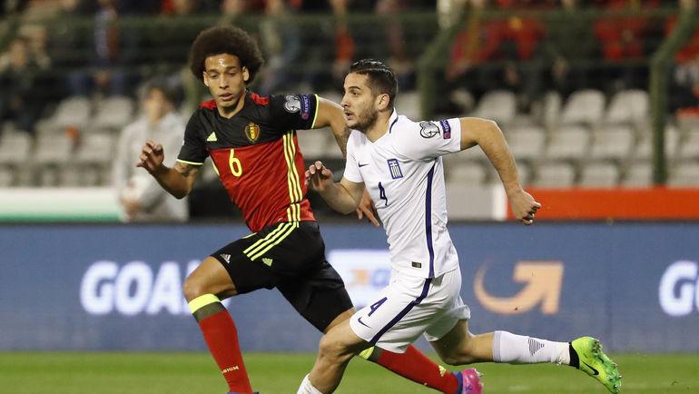 Аксель ВИТСЕЛЬ и его Бельгия уверенно лидируют в своей отборочной группе. Фото AFP