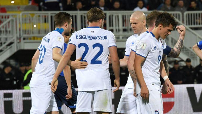 Сможет ли сборная Исландии попасть в Россию и повторить свой успех на Euro-2016. Фото AFP