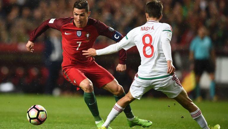 Суббота. Лиссабон. Португалия - Венгрия - 3:0. Криштиану РОНАЛДУ (№7). Фото AFP