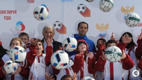 Широков и Гогричиани дают футбольные уроки в Сочи