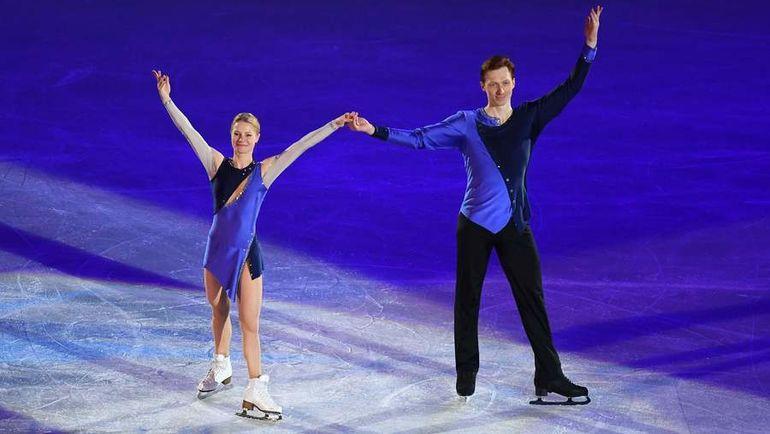Евгения ТАРАСОВА и Владимир МОРОЗОВ могут удивить в Хельсинки. Фото AFP
