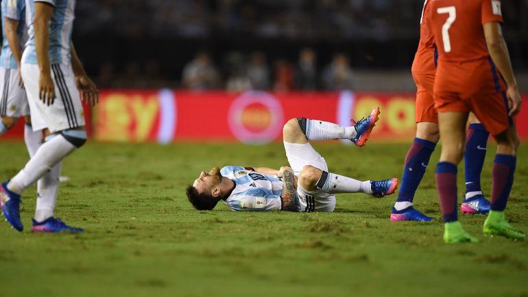 23 марта. Буэнос-Айрес. Аргентина - Чили - 1:0. Лионель МЕССИ. Фото AFP