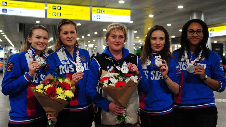 Женская сборная России по керлингу. Фото Никита УСПЕНСКИЙ, «СЭ»