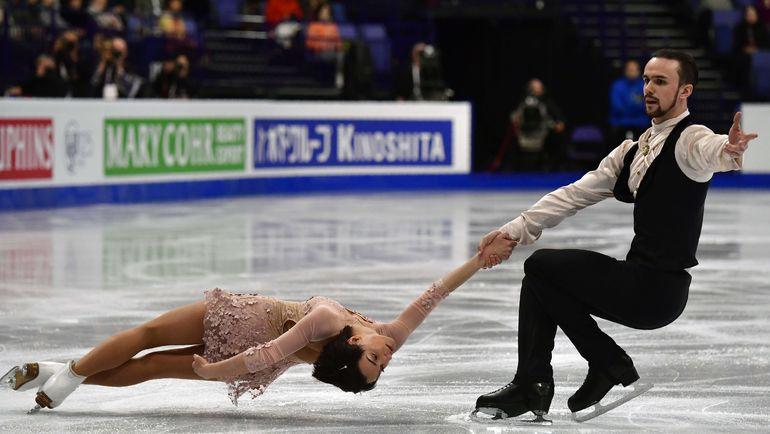 Среда. Хельсинки. Ксения СТОЛБОВА и Федор КЛИМОВ. Фото Reuters