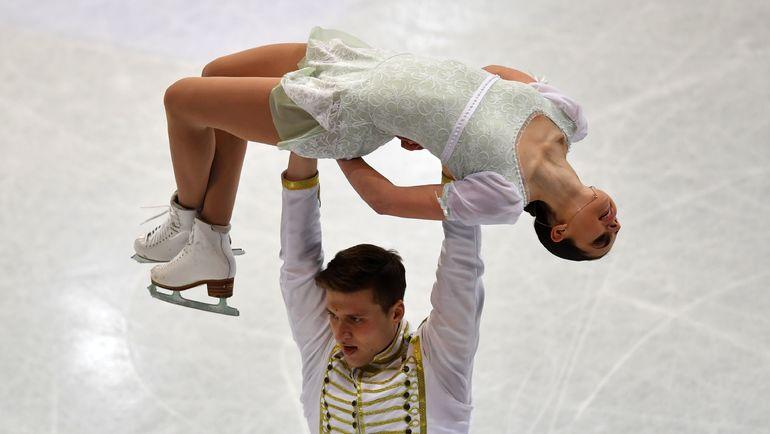 Пятое место Натальи ЗАБИЯКО и Александра ЭНБЕРТА стало сюрпризом. Фото AFP
