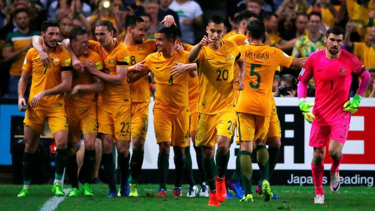 Сборная Австралии. Фото AFP