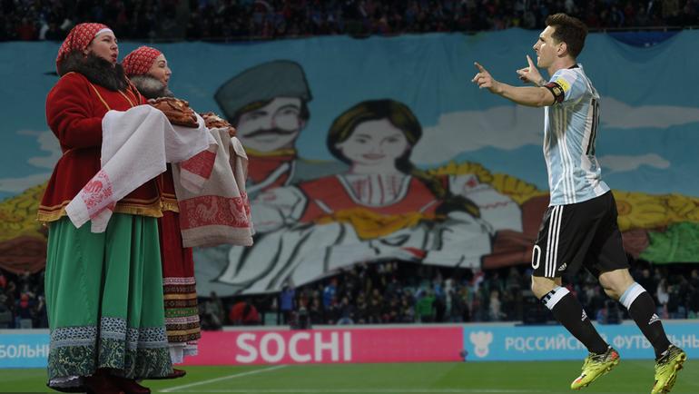 Лионель МЕССИ может остаться без чемпионата мира в России. Фото «СЭ»