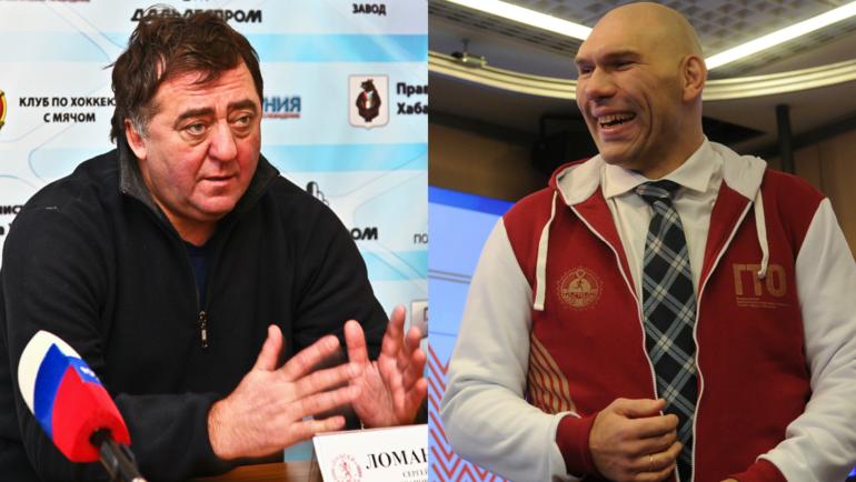 Сергей ЛОМАНОВ и Николай ВАЛУЕВ. Фото «СЭ»