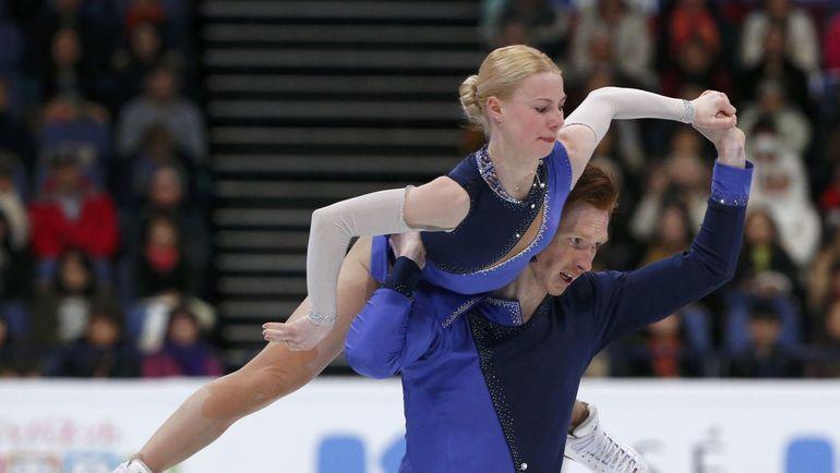 Сегодня. Хельсинки. Евгения ТАРАСОВА и Владимир МОРОЗОВ. Фото Reuters