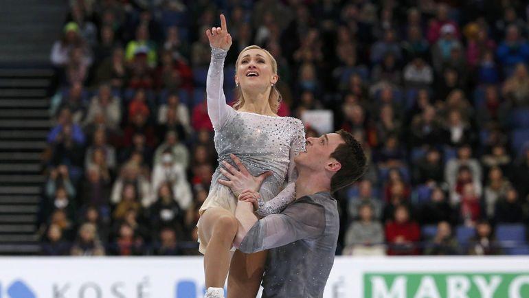 Сегодня. Хельсинки. Алена САВЧЕНКО и Бруно МАССО. Фото REUTERS