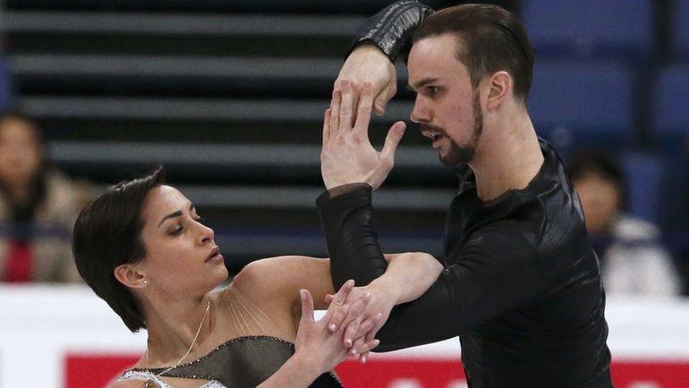 Ксения СТОЛБОВА и Федор КЛИМОВ стали в Хельсинки пятыми. Фото Reuters
