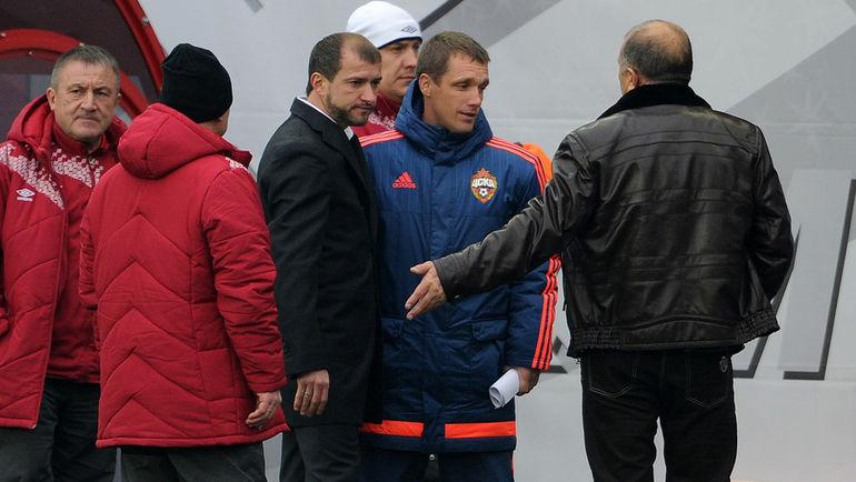 Вадим СКРИПЧЕНКО (слева) и Виктор ГОНЧАРЕНКО. Фото Алексей ИВАНОВ, «СЭ»