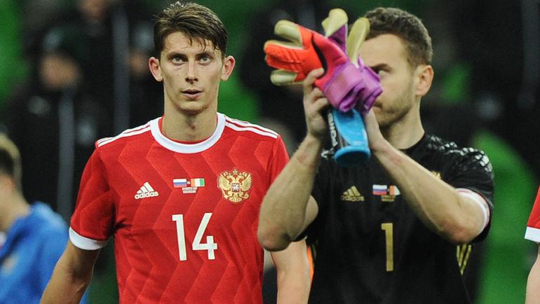 Илью КУТЕПОВА (слева) нужно продолжать наигрывать в сборной. Фото Александр ФЕДОРОВ, «СЭ»