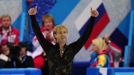 2014 год. Сочи. Евгений ПЛЮЩЕНКО стал двукратным олимпийским чемпионом.